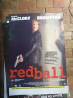 REDBALL  1 SHEET MOVIE  DVD POSTER BELINDA MCLORY