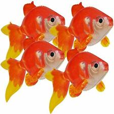 Jet Creations Inflatable 20 inch Long Pack of 4 Gold Fish,Party Supplies Party