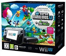 Nintendo Wii U premium pack 32gb [incl. wii u mario + Luigi premium pack] schw a
