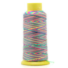 1 Roll Cotton Thread Spools Sewing & Quilting Multicolor 0.6mmDia.