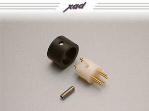 CARDAS MDIN R PLUG MALE DIN TONEARM PLUG fits REGA RB250 251 300 301