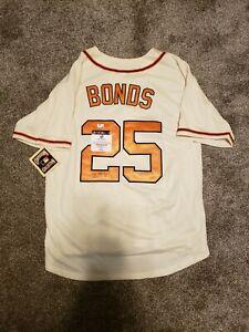 Barry Bonds Signed Jersey
