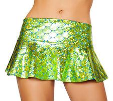 Flared Mermaid Skirt Iridescent Skirt Dance Skirt Rave Mermaid Skirt Roma SK3315
