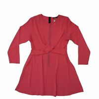 Boohoo Women's A-Line Dress 22 Pink, Blend - polyester