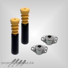 2 Premium Domlager + 2 Protectionkit ( Staubschutz )  hinten VW Golf 4 / Bora 1J