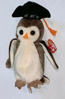 TY Beanie Baby 1998 WISE Owl with errors