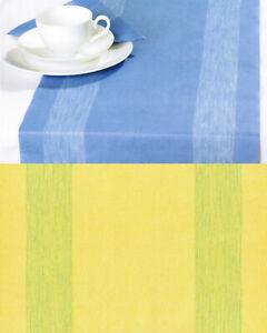36 Meter Tischläufer Tischband 6 Pack mit je 33x600 cm Tischdeko Gelb Zellstoff