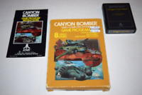 Canyon Bomber Atari Atari 2600 Video Game Complete in Box