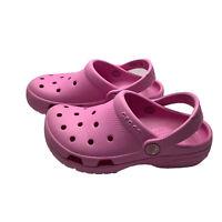 Crocs Girls Size C13 Coast Clog Pink