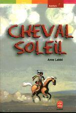 Livre poche cheval soleil Anné Labbé book