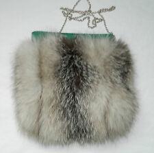 MINI FOX orecchie e coda Turchese /& Lilla Elegante Finta Pelliccia Volpe Costume Set