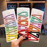 6PCS Girls Cute Hair Pins Clips Candy-colored Bangs Barrettes Hair Accessories