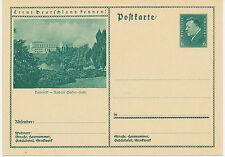 DT.REICH Friedrich Ebert 6 Pf 1932 Bildpost-GA BIELEFELD – Rudolf Oetker-Halle