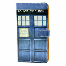 Doctor Who Tardis Leather Wallet Card Holder Case For Samsung Galaxy S7 Edge