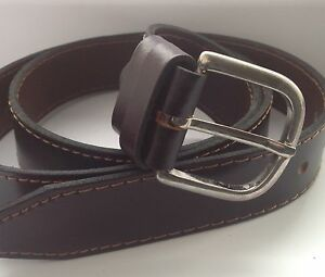 Children's Boys LEATHER BELT MENS Size 26 inches to 30 inches