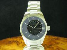 Longines Conquest Classic GMT Edelstahl Automatic Herrenuhr / Ref L2.799.4.56.6