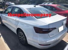 FOR 2019 VOLKSWAGEN JETTA UN-PAINTED PRIMER REAR SPOILER MADE IN USA NO DRILLING