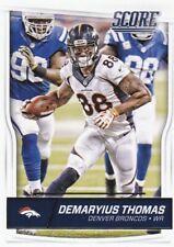 2016 Score Football Trading Card, #99 Demaryius Thomas
