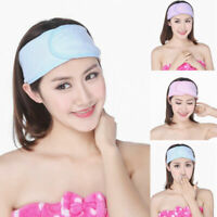 Women Cotton Towel Hair Band Wrap Headband Spa For Sport Bath Shower Make Up