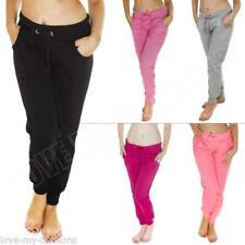Cotton Machine Washable Solid Pants for Women