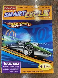 Fisher Price Smart Cycle Learning Arcade Game Hot Wheels Pedal To The Medal NIB