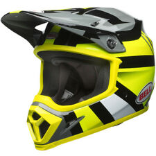 BELL MX9 MIPS MOTOCROSS ENDURO HELMET MARAUDER HI-VIZ YELLOW BLACK SMALL