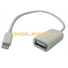 F08 Lightning to USB 2.0 Buchse Adapter iPad 4 iPad Air Verlängerungskabel Kabel