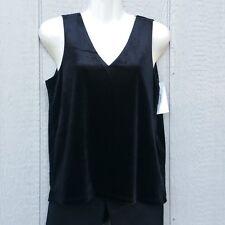Vero Moda Womens Blouse M Medium VMSCARLETT Velvet Lace Sleeveless Top
