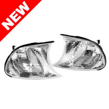 02-03 BMW E46 2DR COUPE / 02-06 M3 CRYSTAL CLEAR CORNER LIGHTS - SCREW IN TYPE