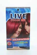 Red Women Hair Colourants with Vitamins