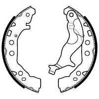 Delphi Rear Brake Shoe Set LS2128 - BRAND NEW - GENUINE - 5 YEAR WARRANTY