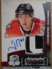 UPPER DECK 2010-11 *THE CUP* -  EVAN BROPHEY ROOKIE AUTOGRAPH & JERSEY  #12/249