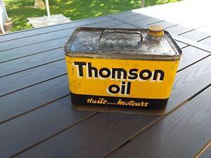 Ancien bidon d'huile