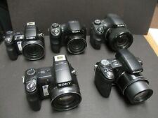 Sony DSC-H50 DSC-H200  DSC-HX300 2-DSC-H9  5 cameras for parts or repair