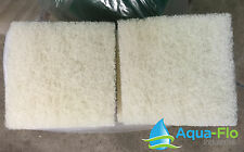 "TWO PACK, 2"" x 12"" x 12"" COARSE Filter Floss Pad Aquarium or Pond Media (2 pads)"