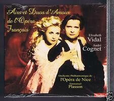 ROMANTIC AIRS & DUETS OF FRENCH OPERA  CD NEW ELISABETH VIDAL/ MICHEL PLASSON