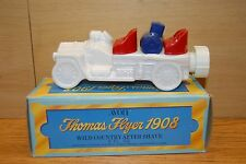 Avon Thomas Flyer 1908 Car Empty Cologne Decanter in Original Box Vtg 1974
