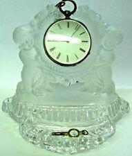 Porte montre verre Repeater pocket watch coq or montre gousset Taschenuhr