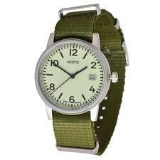 Aristo U-Boot 3H27Tgü Unisex Quarz Armbanduhr 10ATM Textilarmband swiss Movement