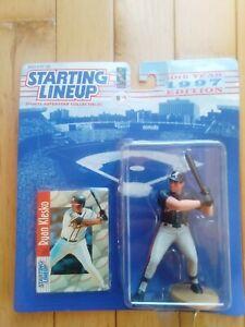 1997 Ryan Klesko Kenner Hasbro Starting Lineup MLB Atlanta Braves Baseball SLU