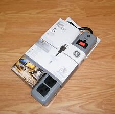 General Electric (14021) 6 Outlet 8ft (Cord Length) Surge Protector **NEW-READ**