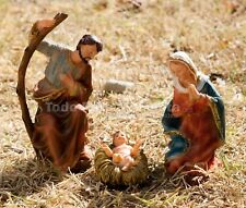 The Holy Family Child Jesus Virgen Mary Saint Joseph Holy Sacred Family Scene Se