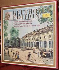 DGG 8-LPs 2721 133: BEETHOVEN Violin & Cello Sonatas - FOURNIER, KEMPFF 1977 DEU