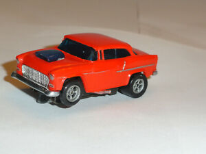 AURORA AFX '55 CHEVY BEL AIR HO SLOT MAGNA TRACTION RUS GOOD NICE USED CONDITION