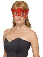 Encaje Bordado Filigrana Corazón Antifaz Mujer Baile de Máscaras Máscara Disfraz