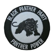 Black Panther Party Power Tactical Morale Hook and Loop Patch