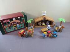 Fisher Price Little People Christmas Story Nativity Lights Sounds w Box