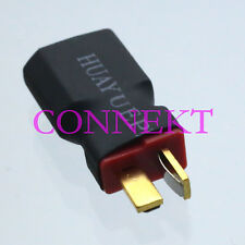 XT60 Male to T-Plug Deans Male No wire adapter connector For Car Lipo Battery