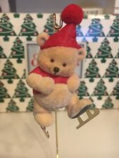 Cant Wait To Skate Bear Christmas Tree Hallmark Keepsake Ornament New In Box