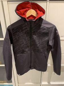 Boy Adidas Manchester Utd Zip Up Hoodie Jacket 11-12 Years.  B2